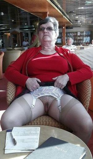 Pussy grannys Old Women