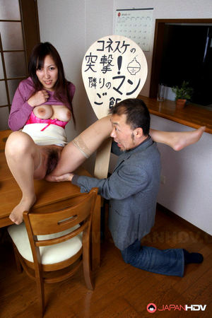 japanese hairy mom