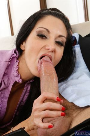 naughty america blowjob