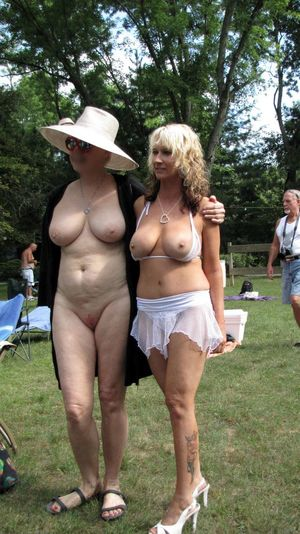nudist beach parties