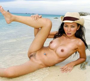 asian topless beach